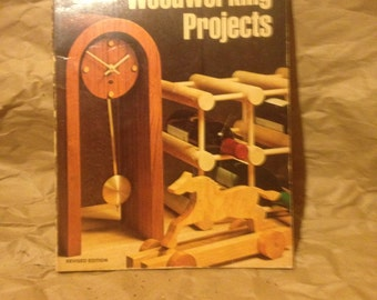 Vintage books/ sunset woodworking projects/ woodworking/ craft books