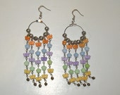 Color Butterfly Earrings, Spring Butterflies, Gift for Her, Spring Colors