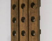 Riddling Rack Wood Antique Style Mini Winerack
