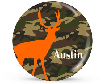 Personalized Plate - Deer - Personalized Plate for Boys