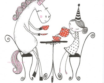 Tea For Two - Giclee Print