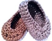 Oh Baby, Button Ballet Shoes crochet pattern PDF by DDK