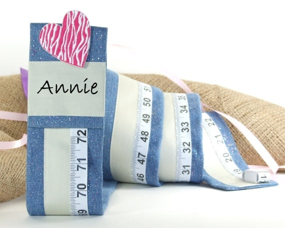 GIRL'S GROWTH CHART -  Fabric Growth Chart - Personalized