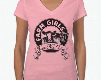 Farm Girls Have Nice Calves TShirt