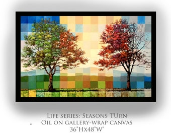Seasons Turn - PRINT - Any size up to 18x24""