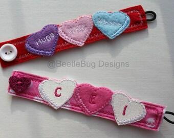 In The Hoop Heart Bracelet