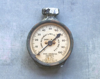 Vintage Industrial Salvage Shore Instrument Durometer  Hardness Tester Type A-2