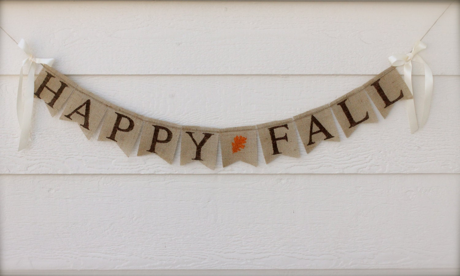 happy fall burlap banner fall burlap banner by butterflyabove