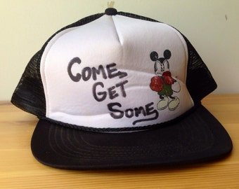 Come Get Some- Boxing Mickey Mouse Disney Hat
