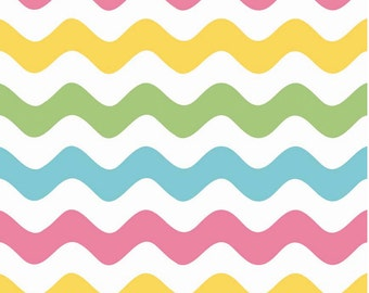 Wave Girl by Riley Blake Designs 1 Yard Cut - Wave Fabric