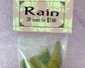 Package of 20 Rain incense cones