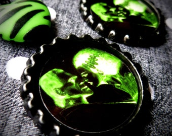 The Glowing Dead earrings