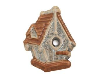 Birdhouse 11/16 inch ( 18 mm ) Susan Clarke Metal Button