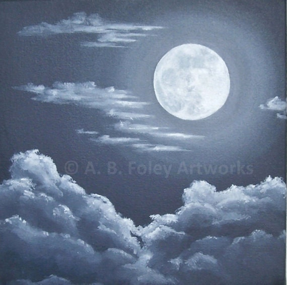 paintings of two moons - photo #8