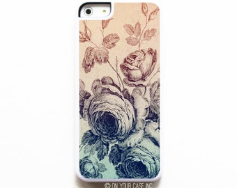 iPhone 5C Case. Vintage Floral iPhone Case. Case for iPhone 5C. iPhone 5C Cases. Phone Case.