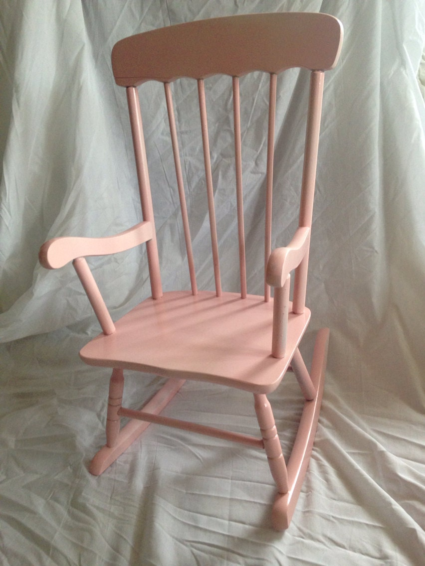 Ballet Slipper Pink Child Rocking Chair Newborn Photo Prop