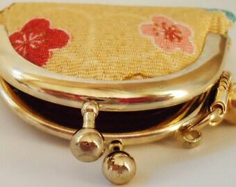 Japanese Purse Lucky Charm.Handmade