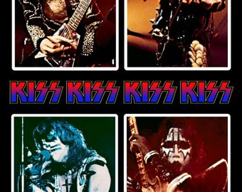 KISS Destroyer Army Kit Photo Stand-Up Display - Rock Band Music Collectibles Collection Collector Memorabilia Gift Ace Frehley Army Retro