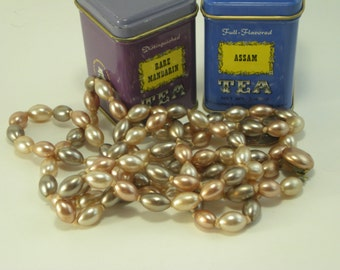 Long Strand of Vintage Faux Pearls