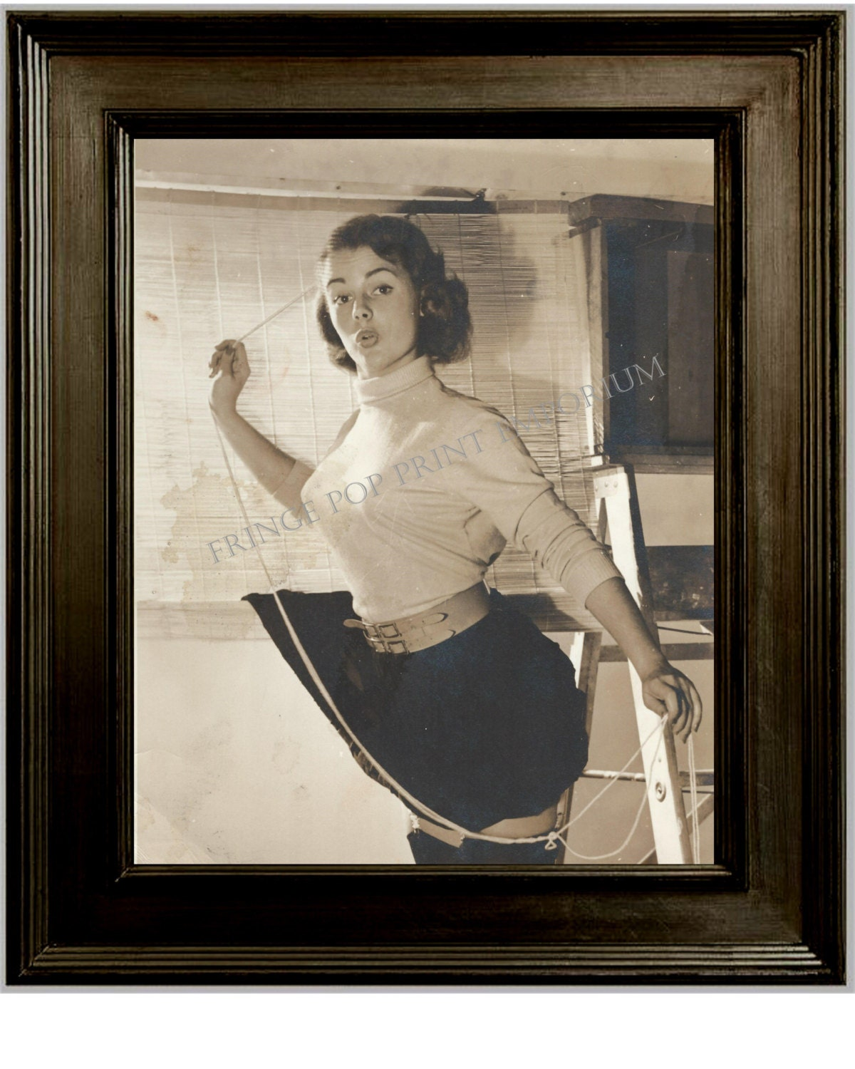 Art Of The Pinup: Gil Elvgren Pin Up Girl Art Print 8 X 10 Painting Reference