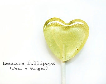 Mommy to Be // 6 Pear Ginger Lollipops // Perfect for upset Tummy // Sweet Pear with a little Heat // Dye Free