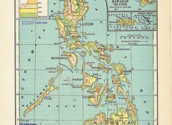 Map Of Philippines And Hawaii Pictures To Pin On Pinterest