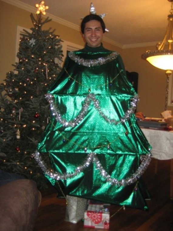 Homemade adult christmas tree costume by designinnovations on etsy