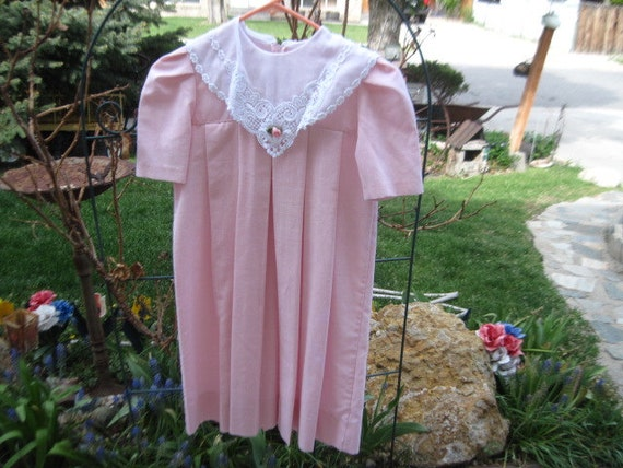 Sweet Pink Pleated Pink Dress Size 10 Sweet