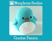 Crochet Pattern: Bubbles the Penguin
