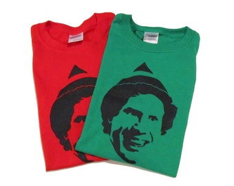 Elf Shirt (Youth and Adult Sizes Available) Buddy the Elf Movie Christmas Tshirt Men Women