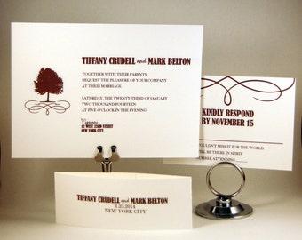 Tree Swirl Invitation