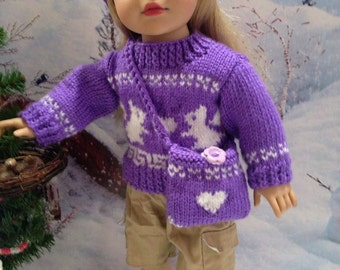 Be Mine Knitted Valentines Day Ensemble