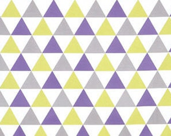 Big Triangles Cotton Fabric - By the Yard 43266