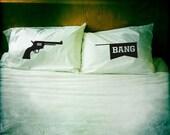 Bang Bang pillowcase set