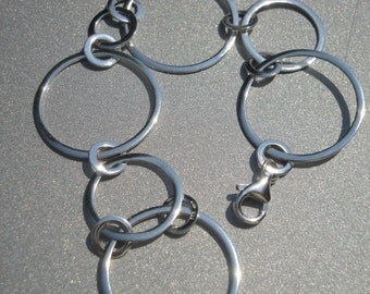 Sterling Silver Circle Bracelet 314.