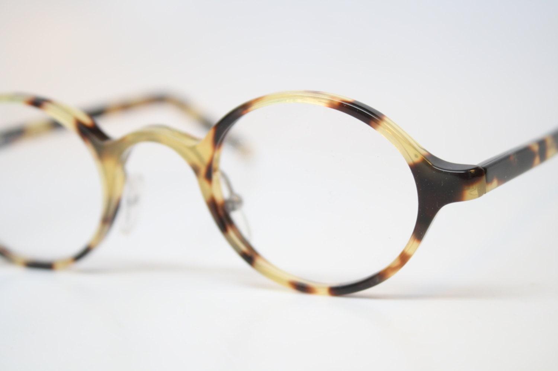 vintage glasses frames tortoise oval glasses by pincenezshop