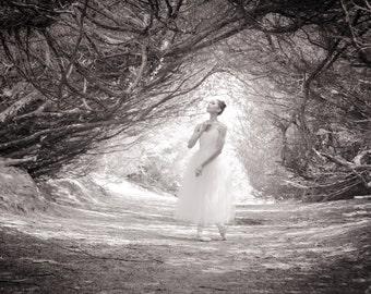 Ballerina Print - Can You Hear Me? - 11 x 14