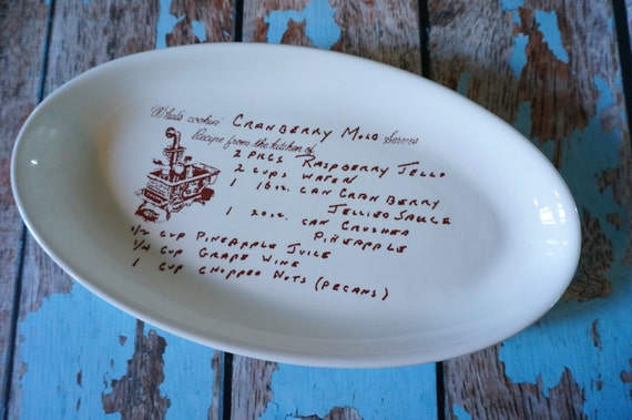 Items Similar To Personalized Gifts For Mom Custom Pottery Kitchen Decor Sentimental Gifts