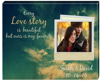Personalized Photo Wall Canvas