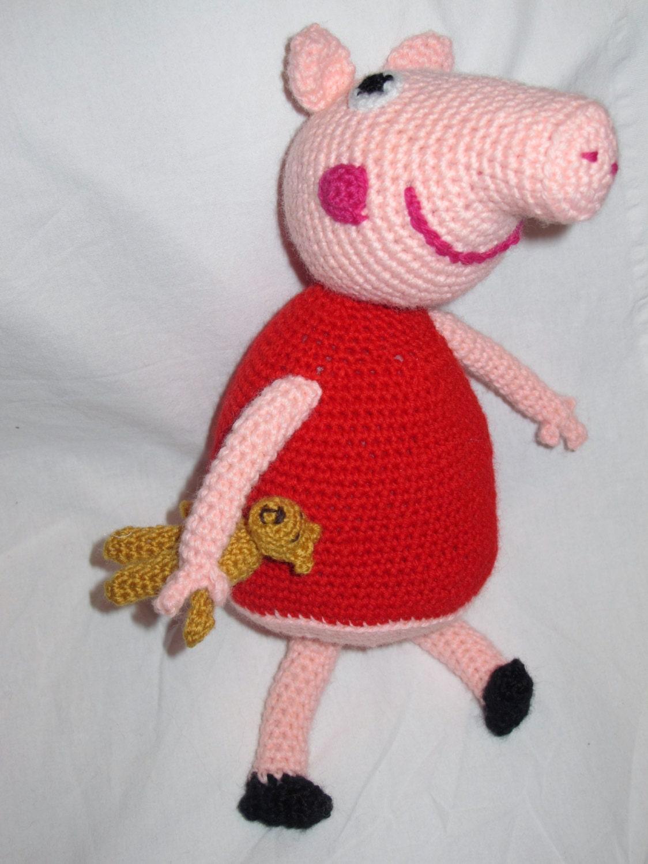 Amigurumi Pepa Pig : Peppa pig amigurumi by giovannacargnelli on Etsy