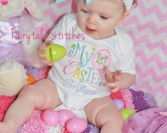 My First Easter, First Easter Shirt, Easter, First Easter, Easter Outfit, Baby Shower Gift