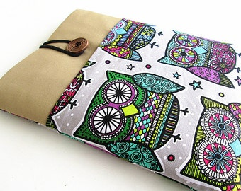 iPad Case, iPad Cover, iPad Sleeve, iPad Air Cover, iPad Air Case, owls