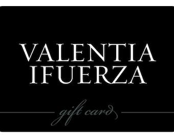 VI Gift Card / Gift Certificate