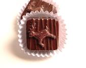 Fake Chocolates 2 Petit Fours Fake Candy Props Chocolate Reindeer