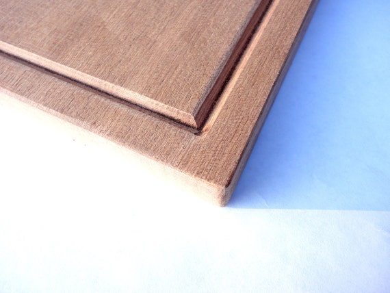 Juice groove add on any wood cutting board by norcalwooddesign