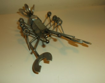 Crayfish Metal Sculpture lobster shrimp
