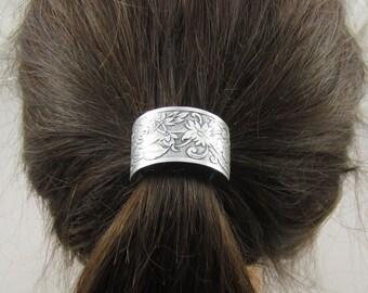 Flower Ponytail Holder- Hair Accessories- Hair Ties- Elastic Hair Ties-