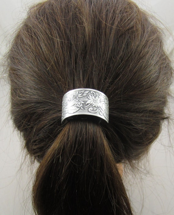 Flower Ponytail Holder Hair Accessories By Pinswithpersonality
