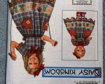 UNCUT Simplicity Sewing Pattern 9354 ... Daisy Kingdom Girls' & Doll Dress ... Sizes 7-14