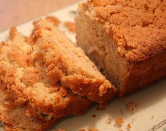 Apple bread, 6 Loaves Homemade bread, Moist & Delicious Apple bread Get 6 Breads FREE SHIPPING